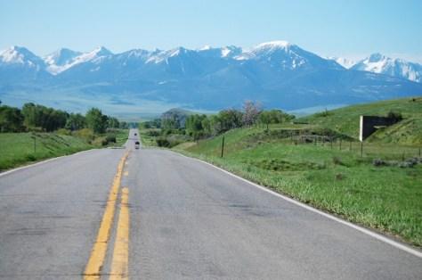 US 89 north of Livingston, MT