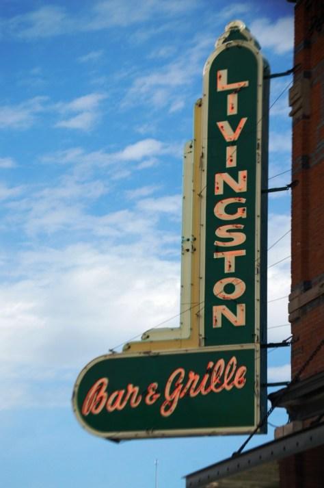 Livingston Bar & Grille Neon in Livingston, MT