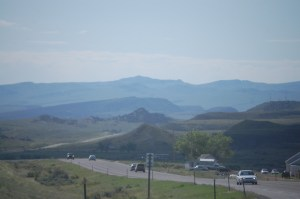 Beautiful vista north of Thermopolis, WY on WY 120