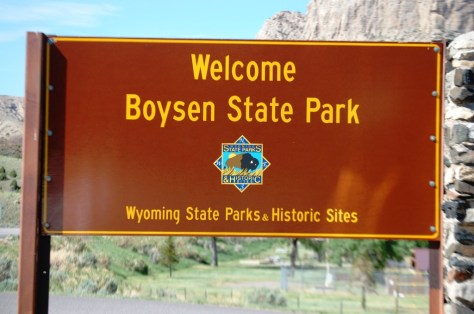 Welcome to Boysen State Park in the midst of the Wind River Canyon