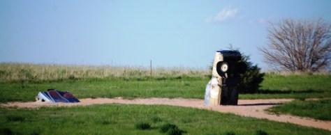 Buried cars at Carhenge
