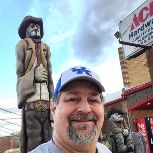 Visiting a couple of cranky cowboys in Choteau, Montana