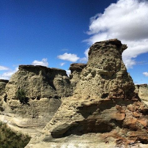 Rock City Hoodoos in northern Montana
