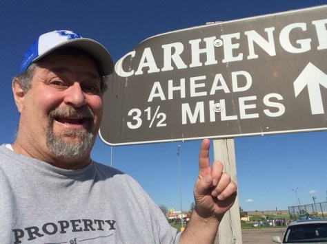 This way to Carhenge