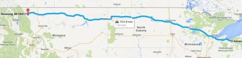 Ironwood, MI to US 89