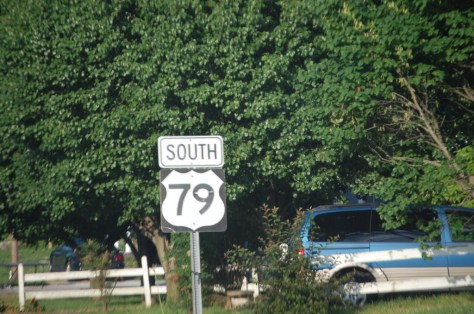 This is where US 79 starts in Russellville, KY