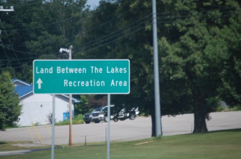 Land Between the Lakes in Tennessee