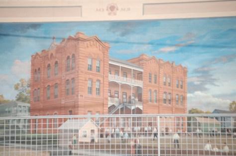 Wall mural of The Vicksburg Hotel