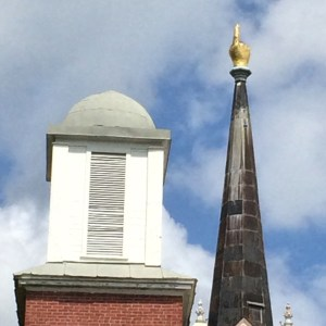 Unique Steeple of the First Presbyterian Church in Port Gibson, MS