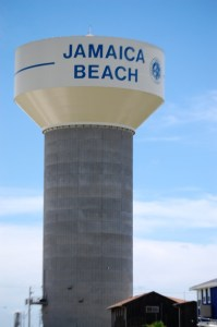 Jamaica Beach Water Tower