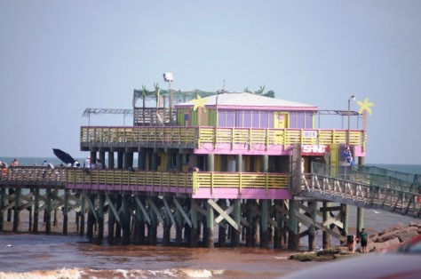 Pier dining and shopping if you want it
