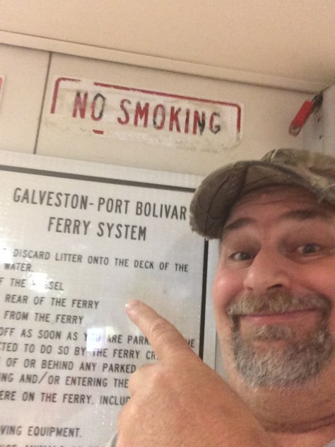 Proof I was on the Ferry