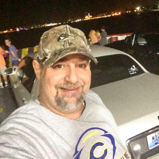 On the Bolivar Ferry to Galveston