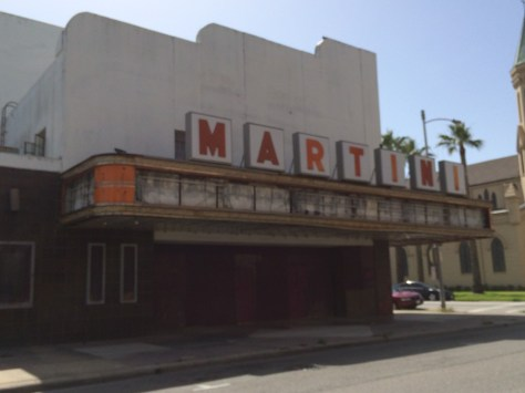 Historic Martini Theater in Strand Historic District
