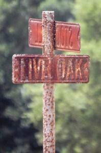 Corner of Live Oak and Stockwell in Damon, TX