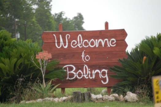 Welcome to Boling, TX