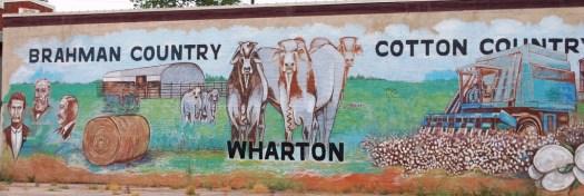 Wodrich mural in Wharton, TX