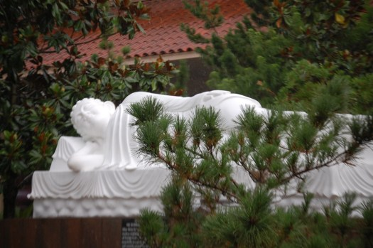 Sleeping Buddha Statue at the Vietnam Buddhist Center