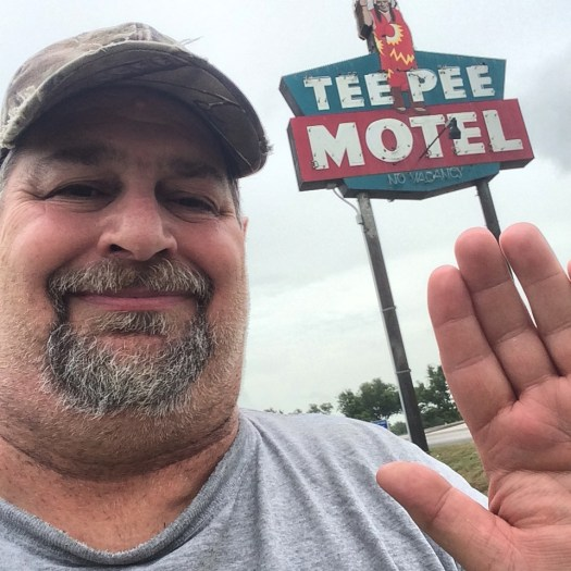 Sumoflam at the Tee Pee Motel in Wharton, TX