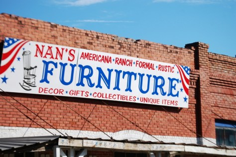 Old Furniture Store in Shiro, TX