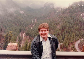 Sumoflam at the Oak Creek Canyon Overlook in 1982