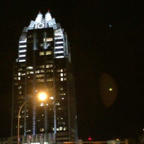 """The """"Owl"""" in downtown Austin"""