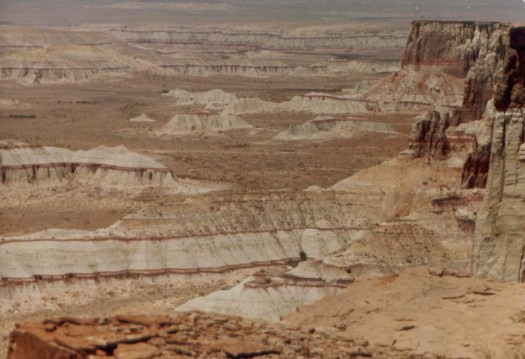 Coal Mine Canyon on the Navajo Reservation