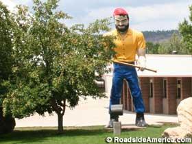 NAU Lumberjack - copyright Roadside America