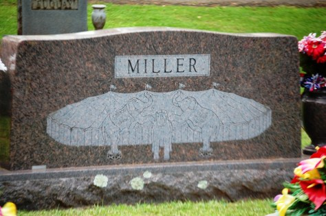 Mr. Miller will always be under the big top