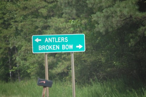 Antlers or Broken Bow?
