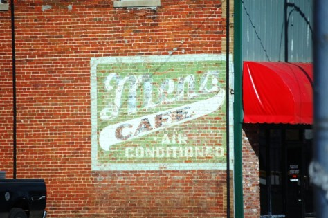 Old Ghost Sign in Mena, AR