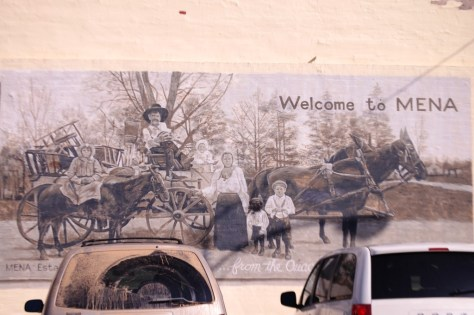 Welcome to Mena mural