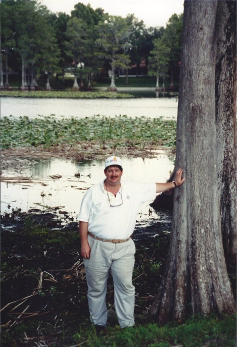Visiting the Everglades in Florida in July 1990