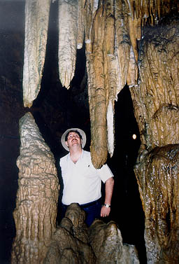 Down in Japan's version of Mammoth Cave in 1988