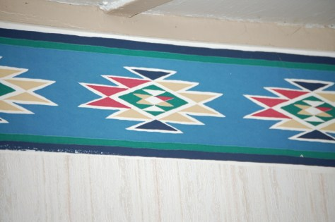 Indian Motif in the rooms