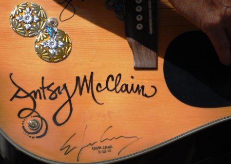Antsy McClain signature geetar