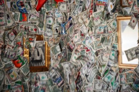 Legal Tender Wallpaper at Fat Smitty's