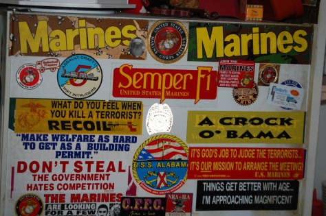 Marine Wall at Fat Smitty's