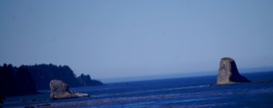 Sail Rock in the Strait of Juan de Fuca