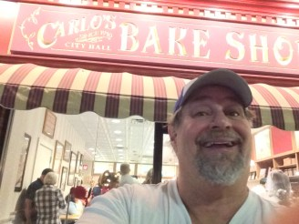At Carlos Bake Shop in Hoboken, NJ in 2015