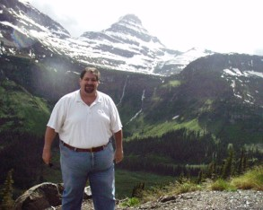 Visiting Glacier National Park in Montana in 2005