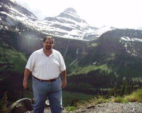 Visiting Glacier National Park in Montana in 2005