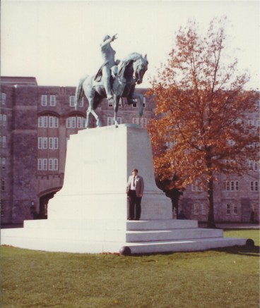 A visit to West Point in New York in 1986.