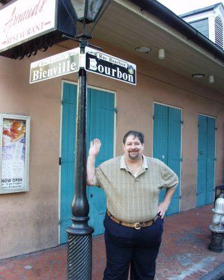 Bourbon Street in New Orleans in 2011