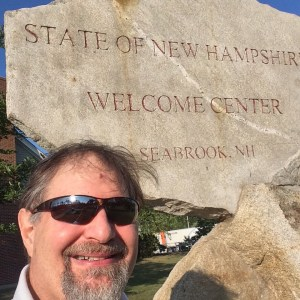 Welcome to New Hampshire in Sept 2015 - State #49!
