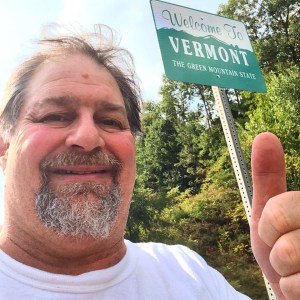 And Finally...#50 Vermont (21,523 days after being born in Cleveland, OH)