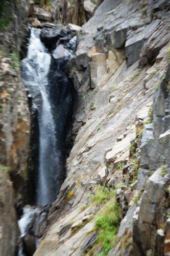 One of many waterfalls seen along WA 123