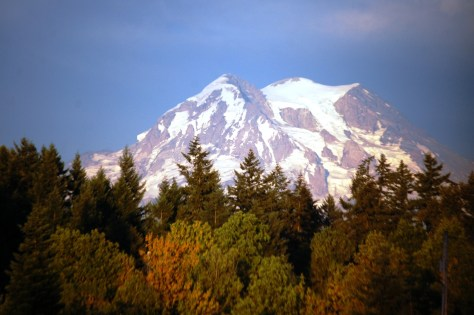 Another Rainier view from near Eatonville, WA