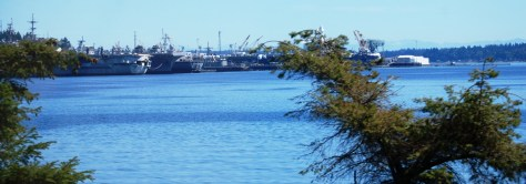 Another view of the Puget Sound Naval Shipyard