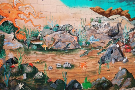 Detail of Port Orchard Mural